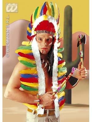 Kostüm-Zubehör Indianer Häuptlingskopfschmuck