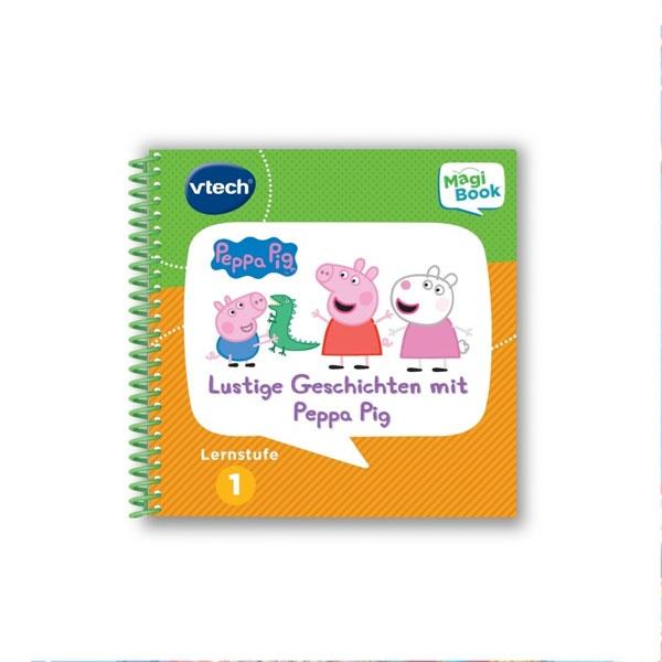 vtech MagiBook Lernstufe 1 Lustige Geschichten mit Peppa Pig