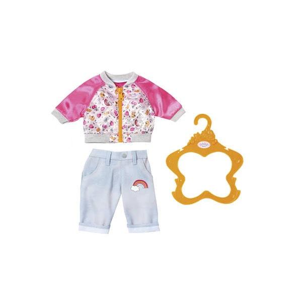 Baby Born Freizeit Outfit hellblaue Hose