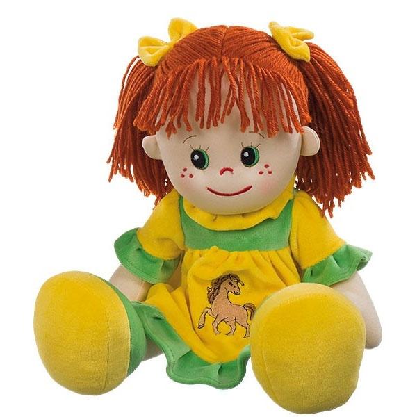 Poupetta Puppe Lotte mit rotem Haar 50 cm