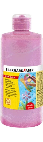 Fingerfarbe pearl rosa 500 ml