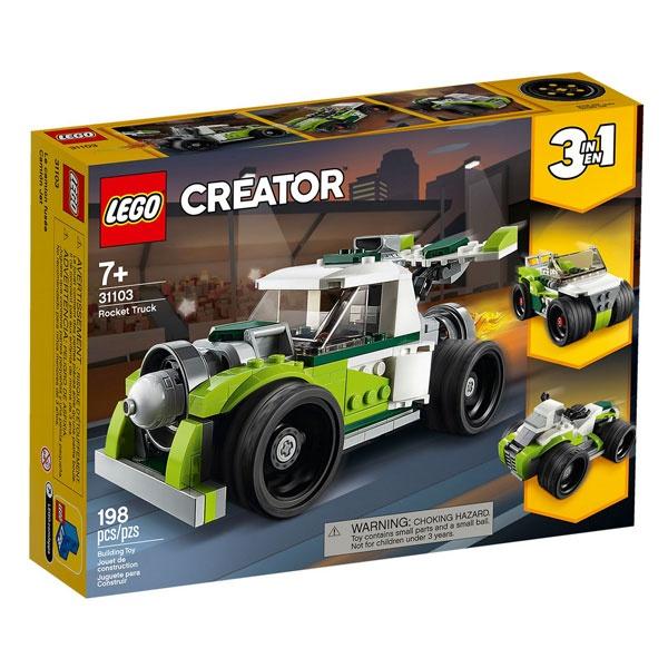 Lego Creator 31103 Raketen-Truck