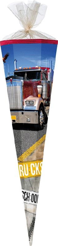 Schultüte Trucks  85 cm