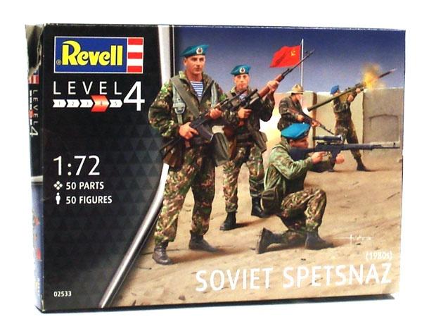 Revell 02533 Soviet Spetsnaz 50 Figuren 1:72