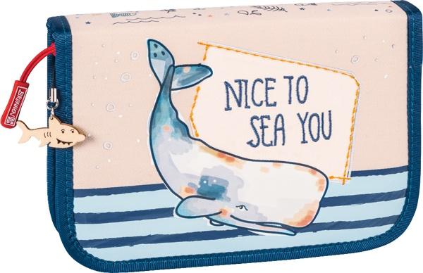 Brunnen Schüler-Etui Happy Ocean mit 2 Klappen