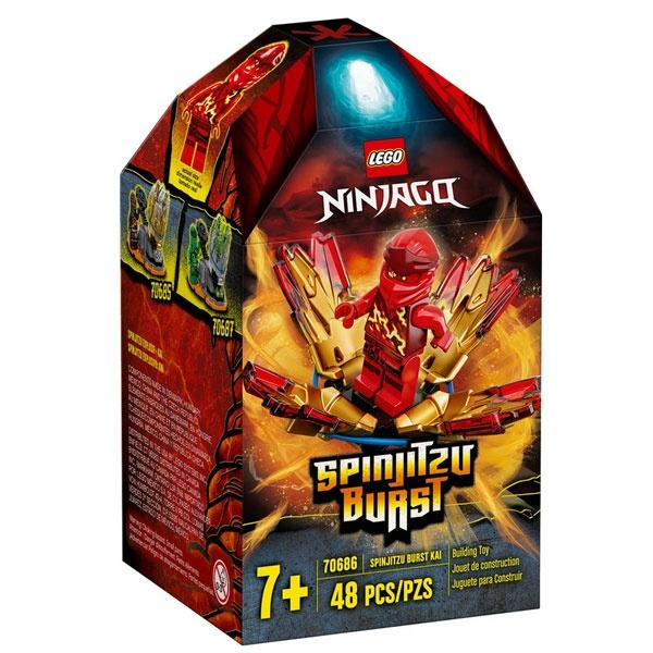 Lego Ninjago 70686 Kais Spinjitzu-Kreisel