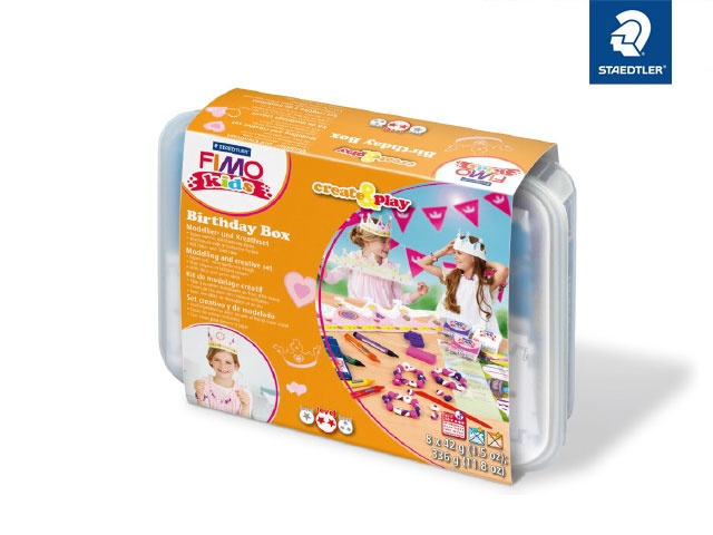 Fimo Birthday Box Prinzessin