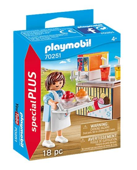 Playmobil 70251 specialPlus Slush-Ice Verkäufer