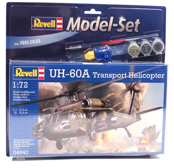 Revell 64940 Modelset UH-60A Transport Helicopter 1:72