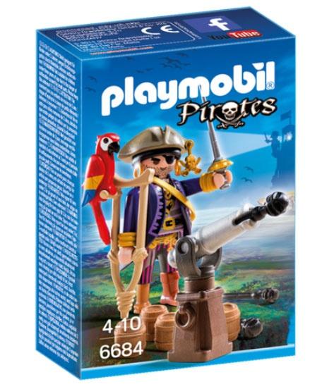 Playmobil 6684 Pirates Piratenkapitän
