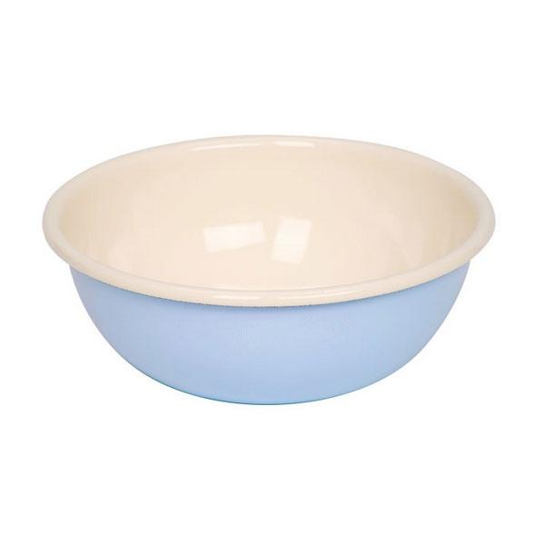 Riess Emaille Küchenschüssel 18cm pastellblau