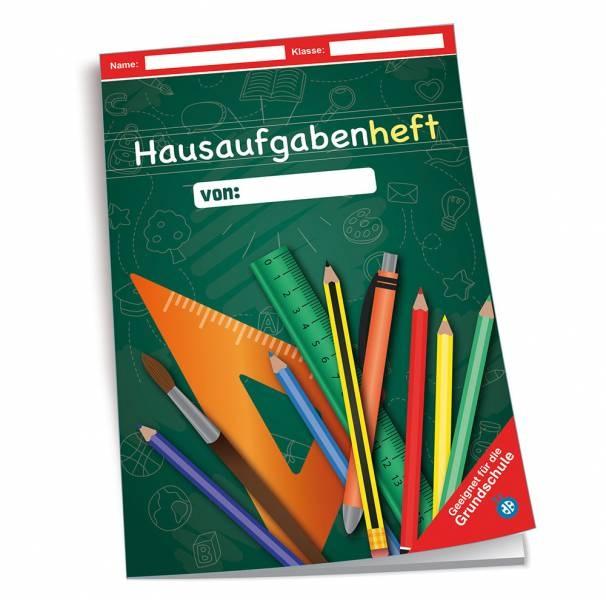 Hausaufgabenheft Grundschule Tafel grün