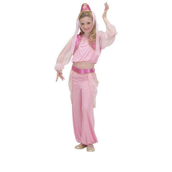 Kostüm Flaschengeist Genie rosa Gr. 140