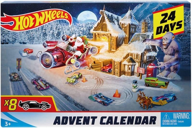 0dventskalender Hot Wheels FKF95 von Mattel