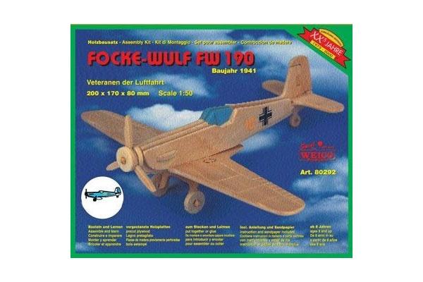Holzbausatz Focke-Wulf FW 190