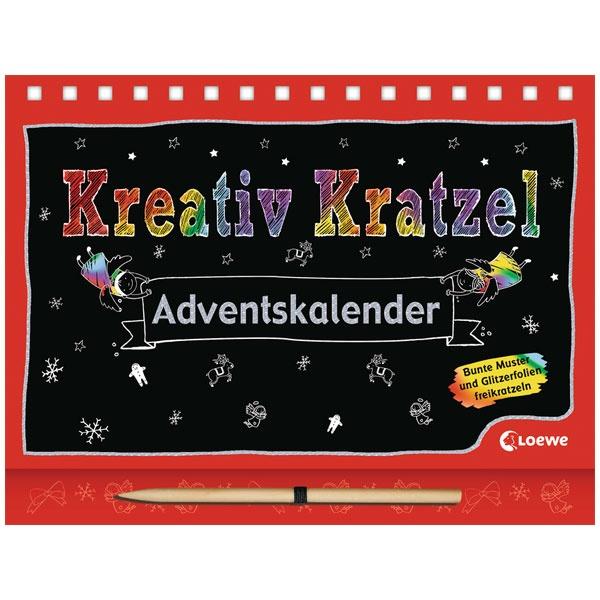 Adventskalender Krativ Kratzel Buch