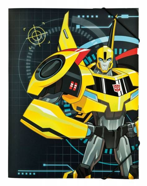 Transformers Gummizugmappe A4 Sammelmappe