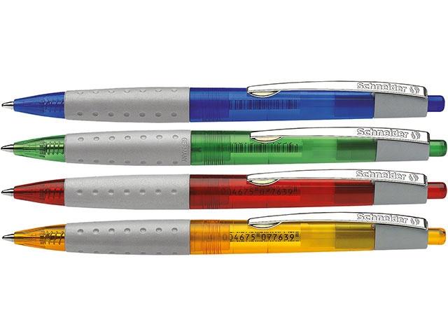 Schneider Kugelschreiber Loox 775 translucent sort.