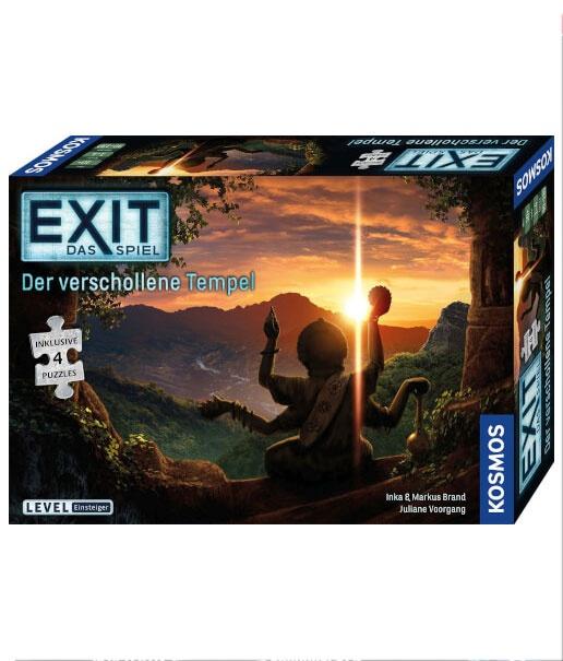 Exit das Spiel + Puzzle - Der Verschollene Tempel