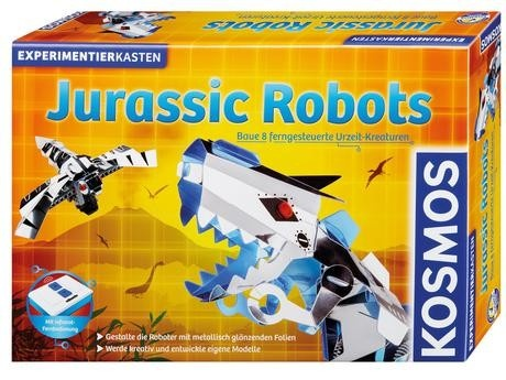 Jurassic Robots Baue 8 ferngesteuerte Urzeit-Kreaturen