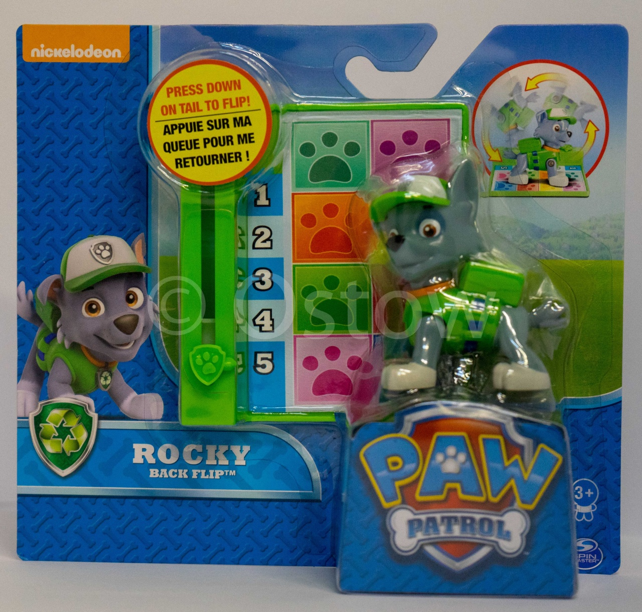 Paw Patrol Action Pack Pups Deluxe Figur Rocky