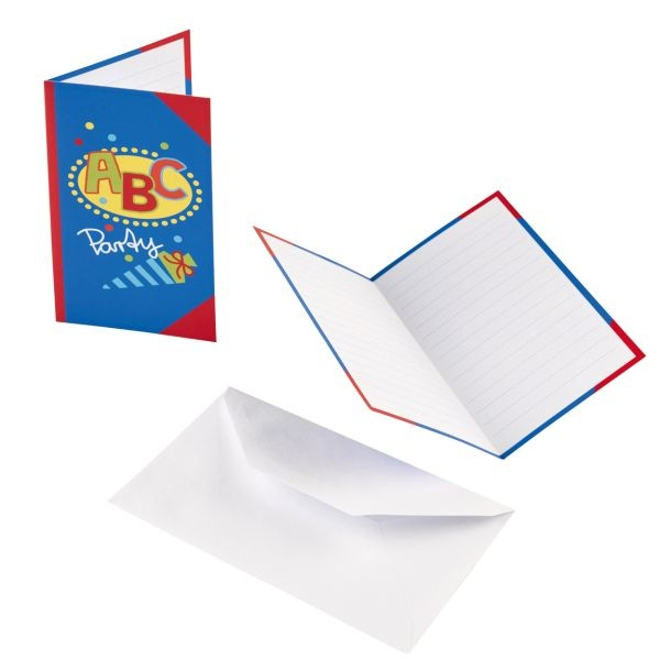 ABC Schulanfang Einladungskarten