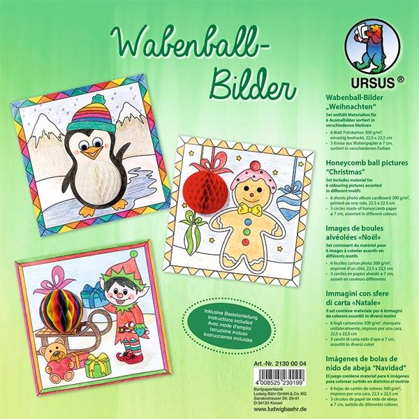 Wabenball-Bilder Weihnachten