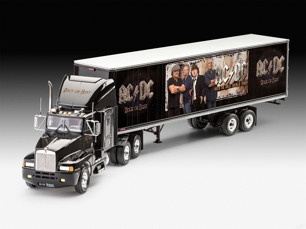 Revell 07453 Truck & Trailer AC DC Limited