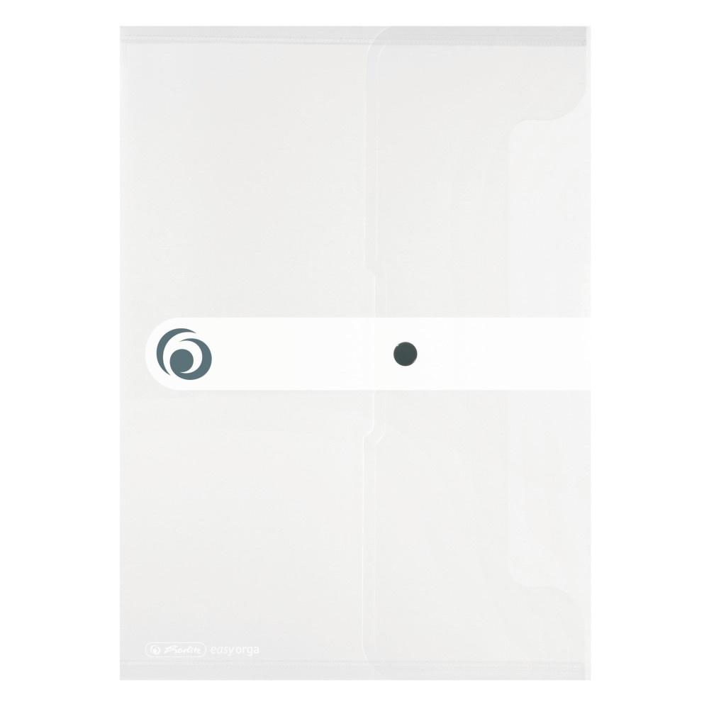 Dokumententasche A4 farbl. transp. PP