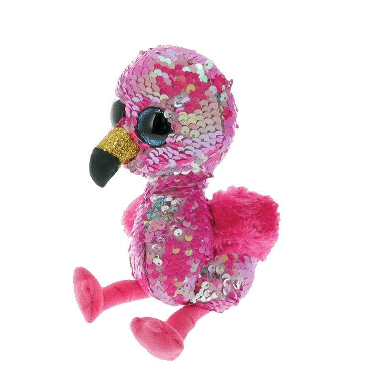 Ty Flippables Pinky Flamingo 15 cm
