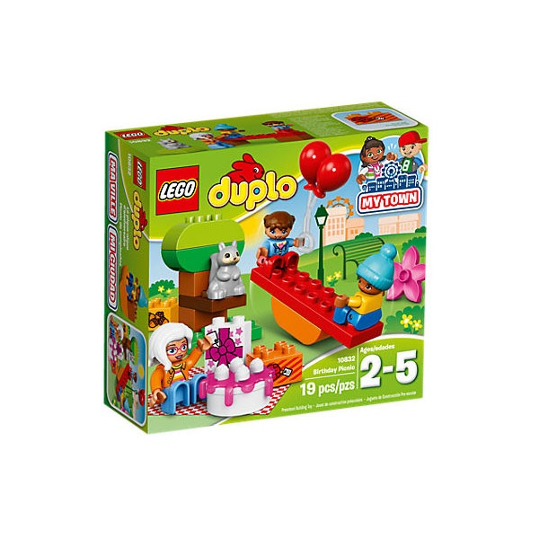 Lego 10832 Duplo Geburtstagspicknick