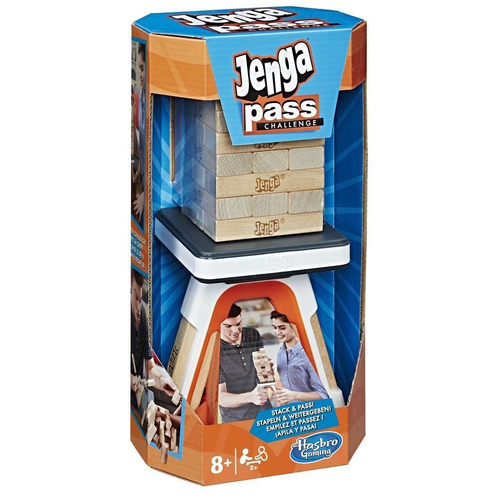 Jenga Pass Challenge Spiel von Hasbro