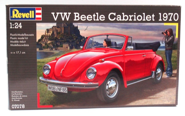 Revell VW Beetle Cabriolet 1970 1:24