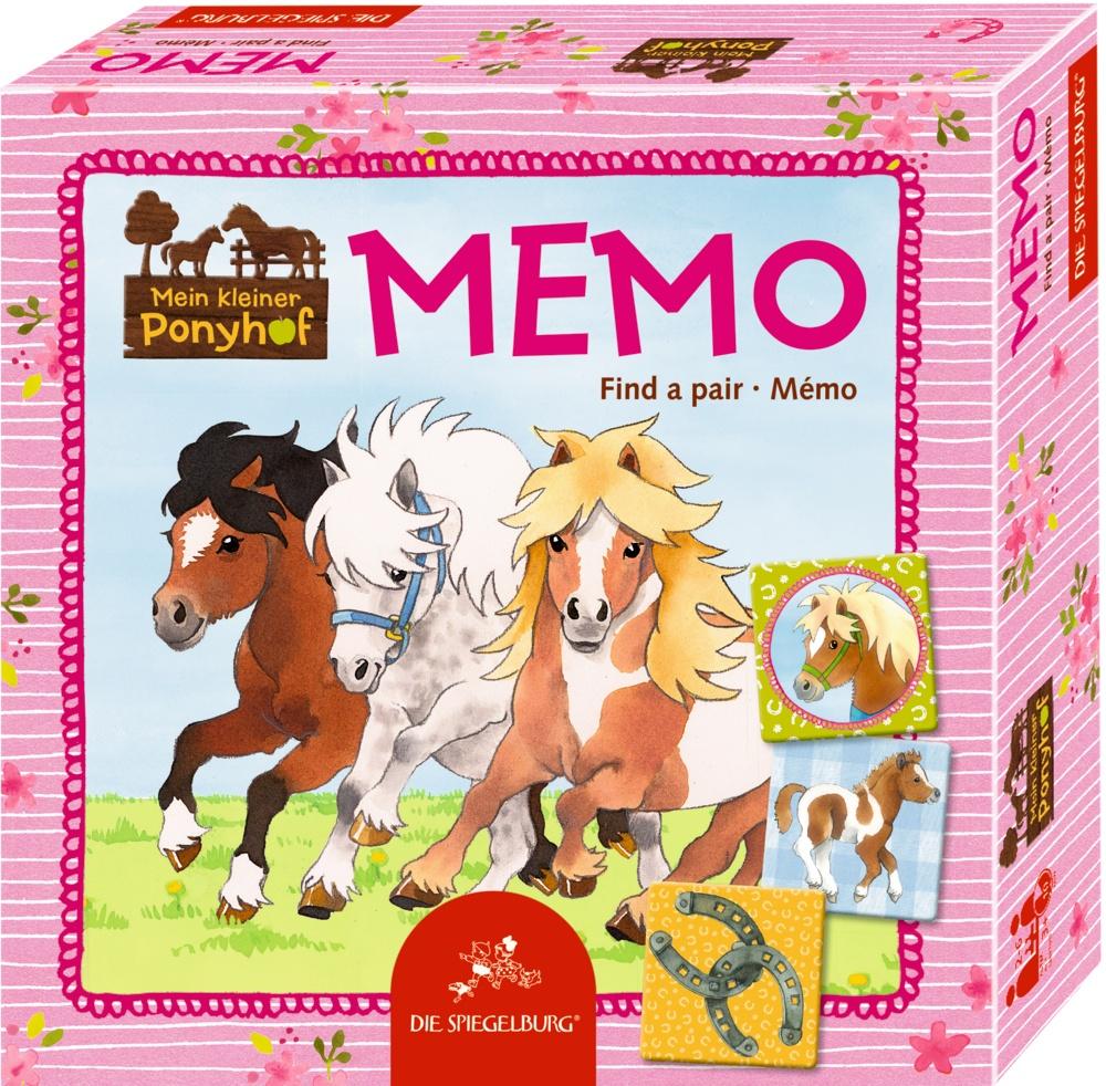 Spiegelburg Mein kleiner Ponyhof Memo