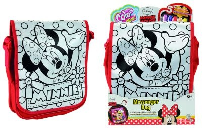 Color me mine Minnie Mouse Messenger Bag