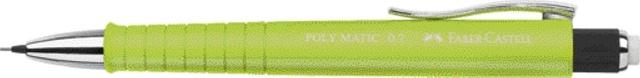 Faber Castell Druckbleistift  Poly Matic 0,7 mm limette