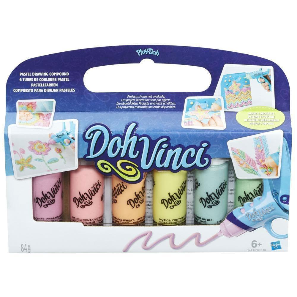 DohVinci Pastellfarben 6er Pack
