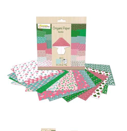 Avenue Mandarine Origami Papier 20 x 20 cm Garden