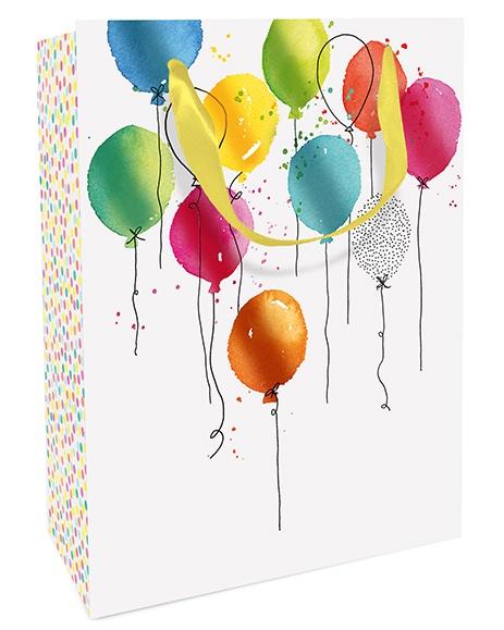 Geschenktasche Balloon Party 25 x 33 x 11 cm