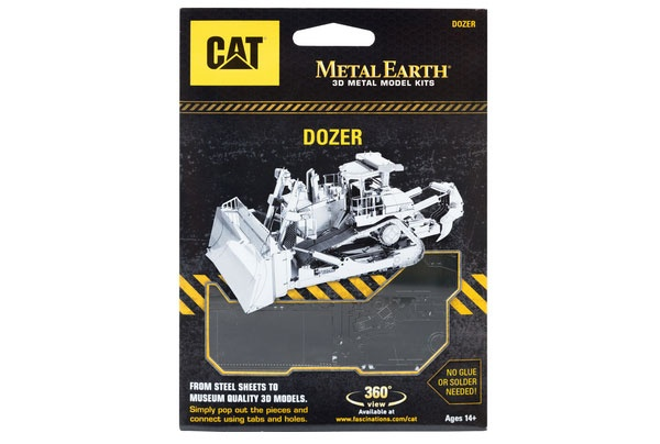 Bastelset Metal Earth CAT Dozer (Kettenraupe)