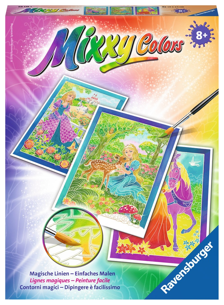 Ravensburger Mixxy Colors Zauberhafte Märchenwelt