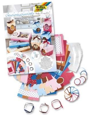 Folia Geschenk-Schachteln -Süßes Verpacken-