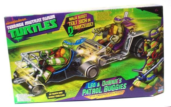 Turtles Leo und Dinnies Petrol Buggies Fahrzeuge