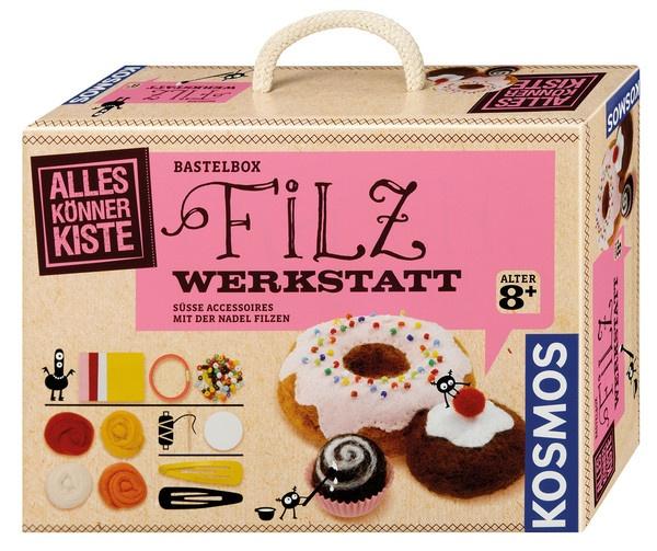 Bastelbox Filz-Werkstatt von Kosmos
