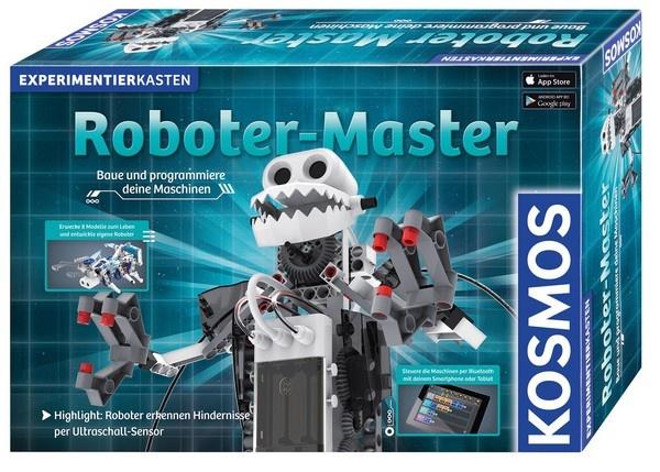 Roboter-Master Baue und programmiere deine Maschinen