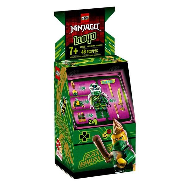 Lego Ninjago 71716 Avatar Lloyd - Arcade Kapsel