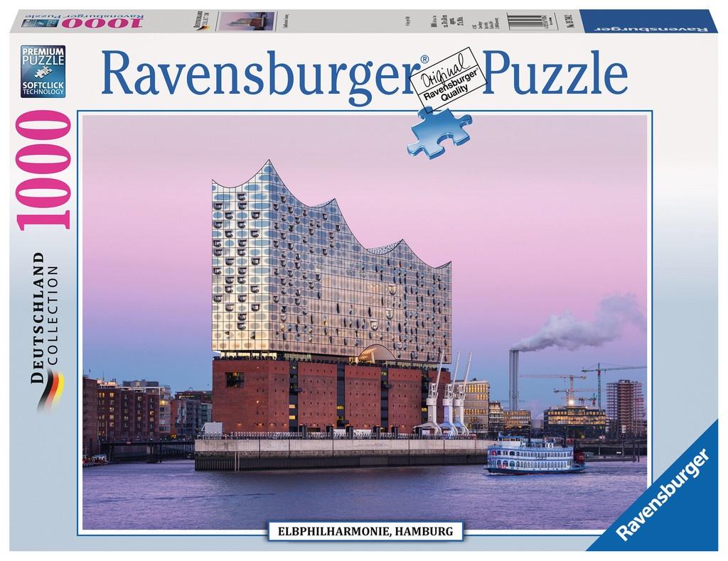 Ravensburger Puzzle Elbphilharmonie Hamburg 1000Teile