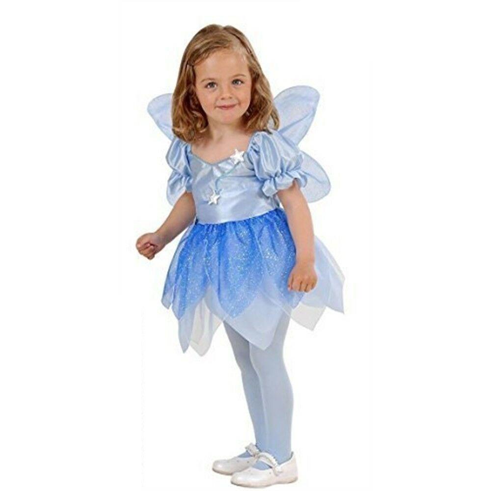 Kostüm Himmelblaue Fee Gr. 98