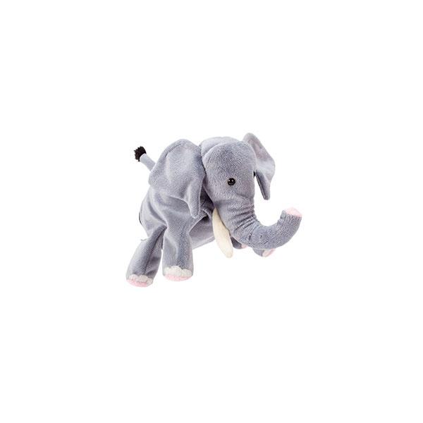 Handpuppe Elefant
