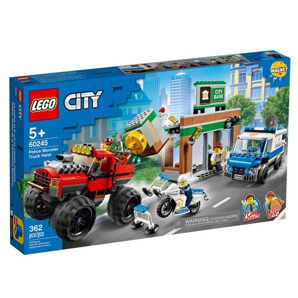Lego City 60245 Raubüberfall mit dem Monster-Truck